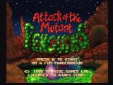 Mutant Penguins Jaguar Title Screen