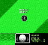 Golf Grand Slam NES Double bogey