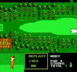 Golf Grand Slam NES You can retry swings during training
