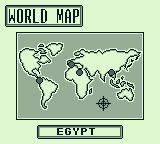 "Tetris Plus Game Boy When you select ""Puzzle mode"", it starts you in Egypt, on the world map."