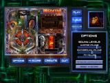 Sci-Fi Pinball Windows The overview screen for each table allows you to configure gameplay and difficulty.