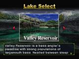 Championship Bass PlayStation Lake select