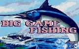 Big Game Fishing Atari ST Title Screen