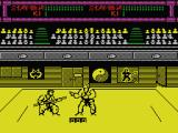 Budokan: The Martial Spirit MSX Bo vs Karate
