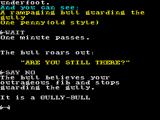 The Very Big Cave Adventure ZX Spectrum The schools humour shines through in its puns