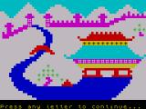 Granny's Garden ZX Spectrum The city of the Dragons