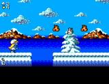 The Smurfs Travel the World SEGA Master System Starting location in the North Pole.