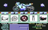 500cc Motomanager Commodore 64 Selecting the bike