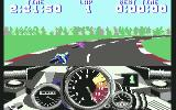 500cc Motomanager Commodore 64 Turning with another biker...
