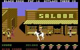 Outlaws Commodore 64 In a town. Be careful, so you don't kill any innocents.