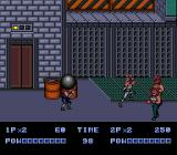 Double Dragon II: The Revenge Genesis Watch out for the ball!