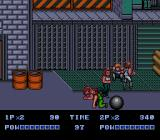 Double Dragon II: The Revenge Genesis Jumping over the enemy.