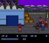 Double Dragon II: The Revenge Genesis Your girl getting blown away.