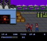 Double Dragon II: The Revenge Genesis First few enemies