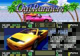 Title screen showing Mad Power car