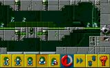The Lemmings Chronicles DOS The classic lemmings are walking tirelessly trying to find the exit