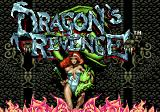 Dragon's Revenge Genesis Title screen