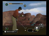 Tiger Woods PGA Tour 08 Wii Tiger at a fantasy setting