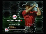 Tiger Woods PGA Tour 08 Wii Title screen