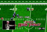 Super High Impact Genesis First down on pass