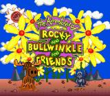The Adventures of Rocky and Bullwinkle and Friends Genesis Title screen