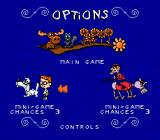 The Adventures of Rocky and Bullwinkle and Friends Genesis Options