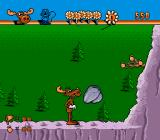 The Adventures of Rocky and Bullwinkle and Friends Genesis Bullwinkle can smash rocks with head
