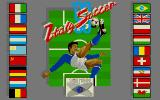 Italy '90 Soccer Amiga Title Screen