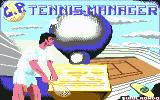 G.P. Tennis Manager Commodore 64 Title Screen