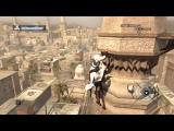 Assassin's Creed (Director's Cut Edition) Windows Climbing a tower, to get a better view of the surroundings.