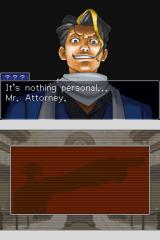 Phoenix Wright: Ace Attorney - Justice for All Nintendo DS I sense troubles