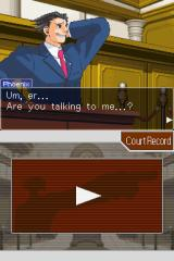 Phoenix Wright: Ace Attorney - Justice for All Nintendo DS Main character of the game