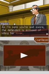Phoenix Wright: Ace Attorney - Justice for All Nintendo DS I hate this guy