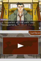 Phoenix Wright: Ace Attorney - Justice for All Nintendo DS Witness