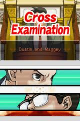 Phoenix Wright: Ace Attorney - Justice for All Nintendo DS Cross examination