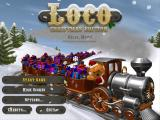 Loco: Christmas Edition Windows Main menu.