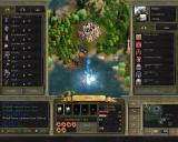 Age of Wonders II: The Wizard's Throne Windows City production screen.