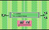 G.P. Tennis Manager Commodore 64 Automatic or Manual play of the game (grass)