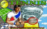 G.P. Tennis Manager Amiga Title Screen