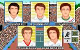 G.P. Tennis Manager Amiga Rookie player selection