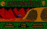 Exterminate Atari ST Entering the cave