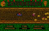 Exterminate Atari ST Two types of enemies at once
