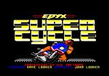 Super Cycle Amstrad CPC Title screen
