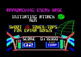 3D Starstrike Amstrad CPC In the later levels, you can get bonuses for completing certain tasks.