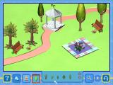 Bob the Builder: Bob Builds a Park Windows Select items from the tray to populate the park.