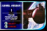 Star Wars: Jedi Power Battles Game Boy Advance The level select screen (there are 10 levels in total)