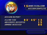 Mega Man X5 Windows Mission complete