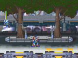 Mega Man X5 Windows Level 1, ready for action.