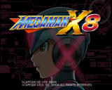 Mega Man X8 Windows Title screen