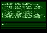 Mindwheel Atari 8-bit Starting location